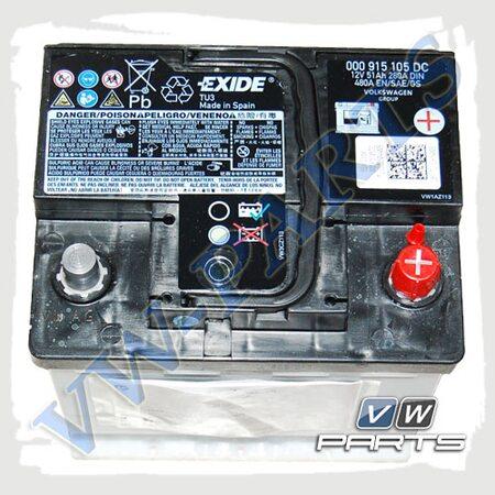 Аккумуляторная батарея VAG (51AH/480A) 000915105DC