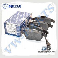 Колодки тормозные передние Meyle 0252358720/W