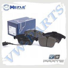 Колодки тормозные передние Meyle 0252433219/W