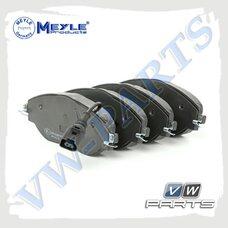 Колодки тормозные передние Meyle 0252511720/W