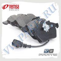 Колодки тормозные передние Remsa 0390.20