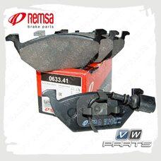 Колодки тормозные передние Remsa 0633.41