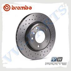 Диск тормозной задний Brembo 08.9502.1X