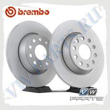 Диск тормозной задний Brembo 08.A202.11