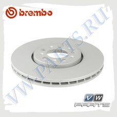 Диск тормозной передний Brembo 09.7010.21
