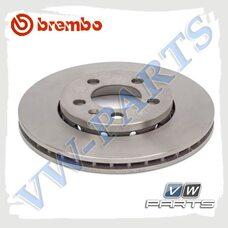 Диск тормозной передний Brembo 09.7011.11