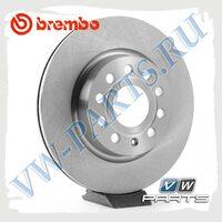 Диск тормозной передний Brembo 09.9167.11