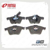 Колодки тормозные передние Remsa 0964.12