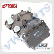 Колодки тормозные задние Remsa 099600