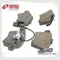 Колодки тормозные передние Remsa 1045.11