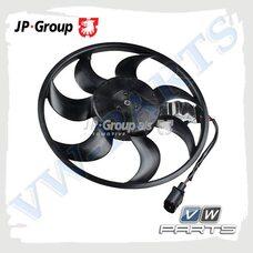Вентилятор системы охлаждения двигателя JP Group 1199106080
