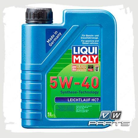 Масло моторное LIQUI MOLY Leichtlauf HC 7 (502.00/505.00) 5W40 (1 л.)