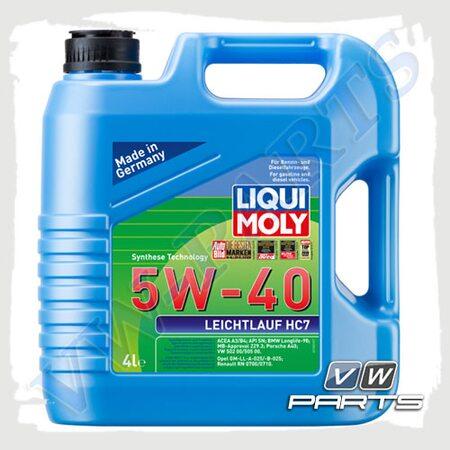 Масло моторное LIQUI MOLY Leichtlauf HC 7 (502.00/505.00) 5W40 (4 л.)