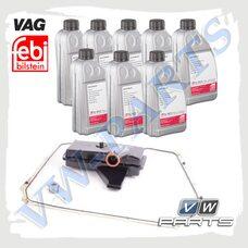 Набор для замены масла в 7 DSG (0B5) VAG+FEBI 1398018