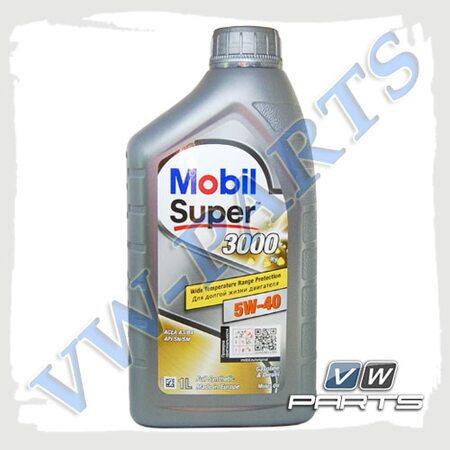 Масло моторное Mobil Super 3000 X1 (502.00/505.00) 5W40 (1 л.), 152567