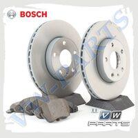 Комплект передних тормозных дисков с колодками Bosch 1798062