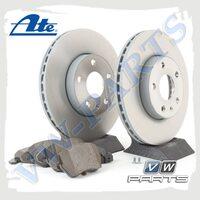Комплект передних тормозных дисков с колодками ATE 1798064