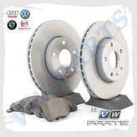 Комплект передних тормозных дисков с колодками VAG 1798067