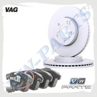 Комплект передних тормозных дисков с колодками VAG 1798109