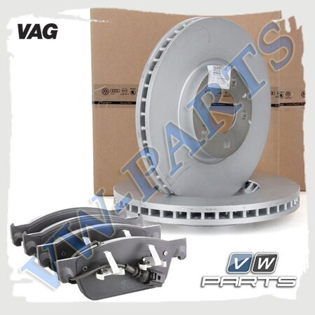 Комплект передних тормозных дисков с колодками VAG 1798116