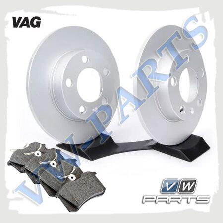 Комплект задних тормозных дисков с колодками VAG 1798119