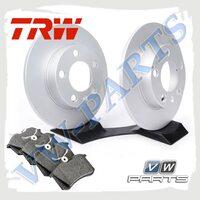 Комплект задних тормозных дисков с колодками TRW 1798120