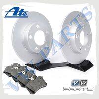 Комплект задних тормозных дисков с колодками ATE 1798121