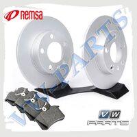 Комплект задних тормозных дисков с колодками Remsa 1798122