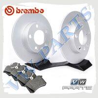 Комплект задних тормозных дисков с колодками Brembo1798124