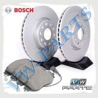 Комплект передних тормозных дисков с колодками Bosch1798133