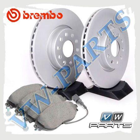 Комплект передних тормозных дисков с колодками Brembo 1798134