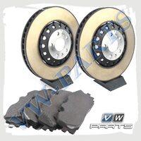 Комплект передних тормозных дисков с колодками VAG 1798137