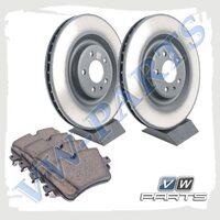 Комплект задних тормозных дисков с колодками VAG 1798138