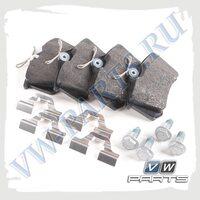 Колодки тормозные задние VAG 1J0698451P