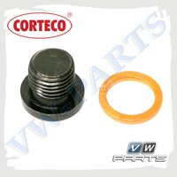 Пробка масляного поддона с кольцом Corteco 220150S