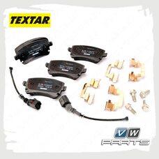 Колодки тормозные задние Textar 2332602