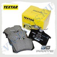 Колодки тормозные задние Textar 2355402