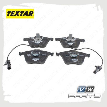Колодки тормозные передние Textar 2376302