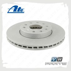 Диск тормозной передний Ate 24.0125-0145.1