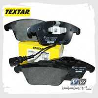 Колодки тормозные передние Textar 2433301