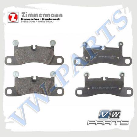 Колодки тормозные задние Zimmermann 24721.170.1