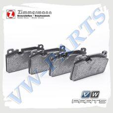 Колодки тормозные передние Zimmermann 25643.170.1