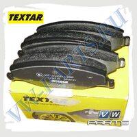Колодки тормозные передние Textar 2568101