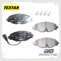 Колодки тормозные передние Textar 2568301
