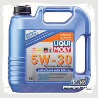 Масло моторное LIQUI MOLY Leichtlauf High Tech LL (502.00/505.00) 5W30 (4 л.)
