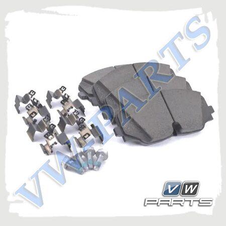 Колодки тормозные передние VAG 3QF698151
