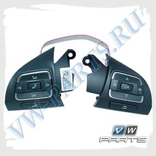 Блок кнопок рулевого колеса VAG 3C8998537B