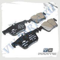Колодки тормозные задние VAG 3Q0698451C