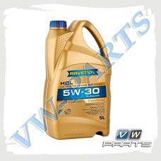 Масло моторное синтетика 5W30 (5л.) Ravenol HCL
