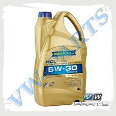 Масло моторное синтетика 5W30 (4л.) Ravenol HCL